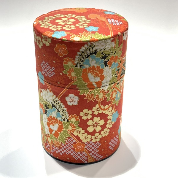 【和紙茶缶100g】213