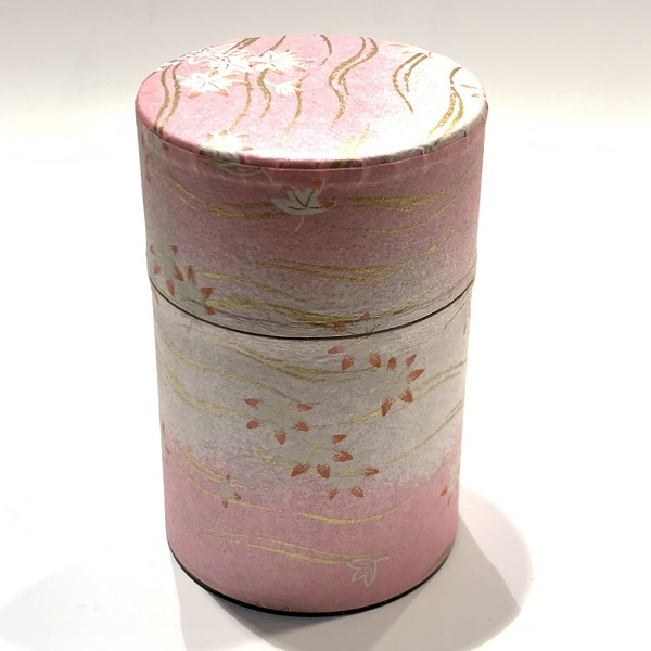 【和紙茶缶100g】218