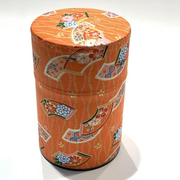 【和紙茶缶100g】209