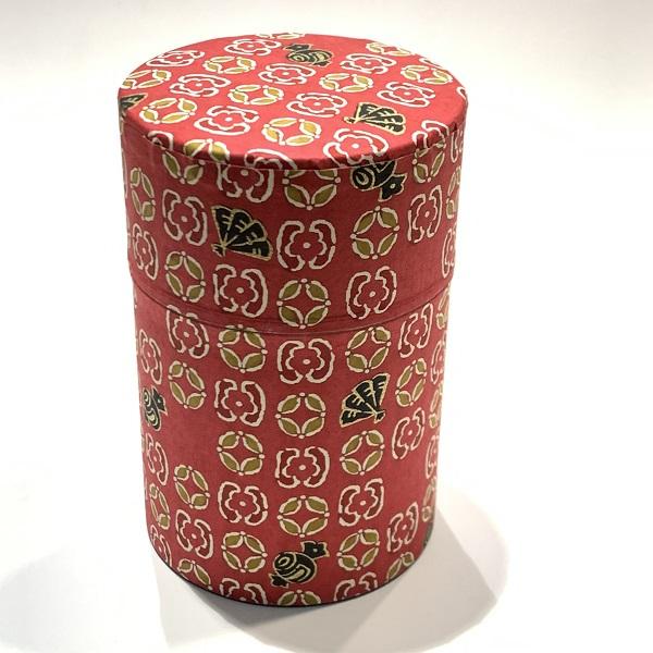 【和紙茶缶100g】223