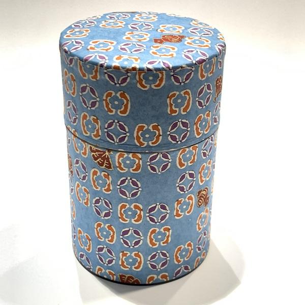 【和紙茶缶100g】232