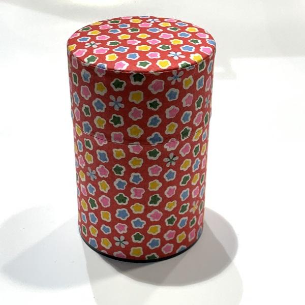 【和紙茶缶100g】3