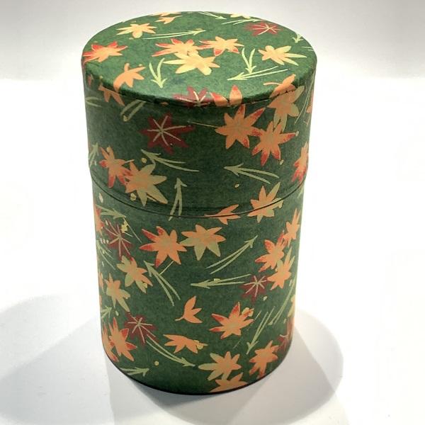 【和紙茶缶100g】69