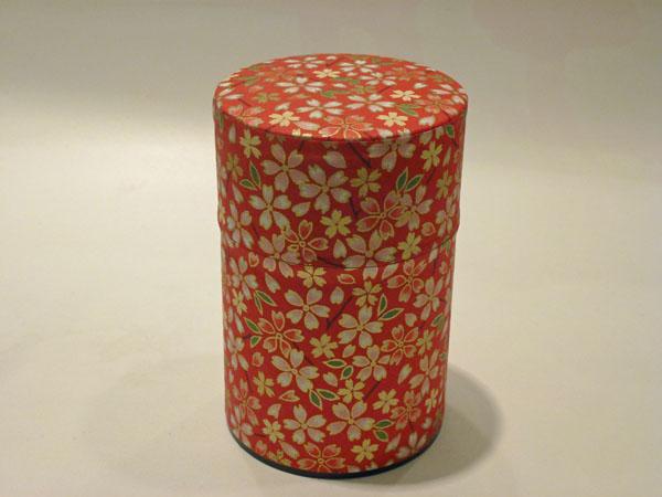 和紙茶缶100g161