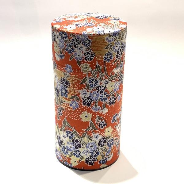 【和紙茶缶200g】109