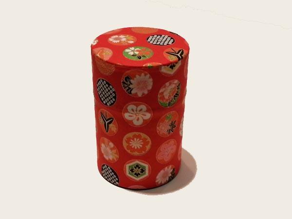 和紙茶缶100g168