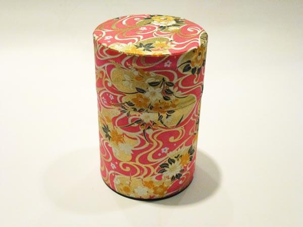 和紙茶缶100g186