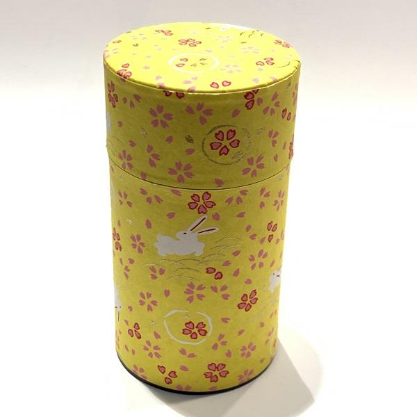 【和紙茶缶150g】03