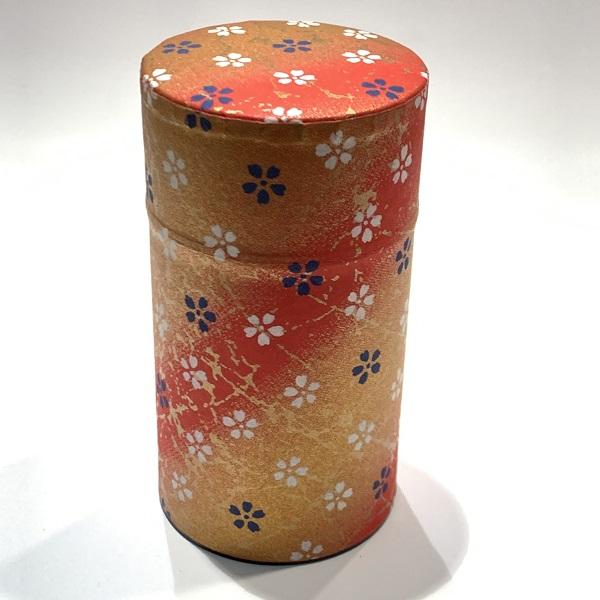 【和紙茶缶150g】13