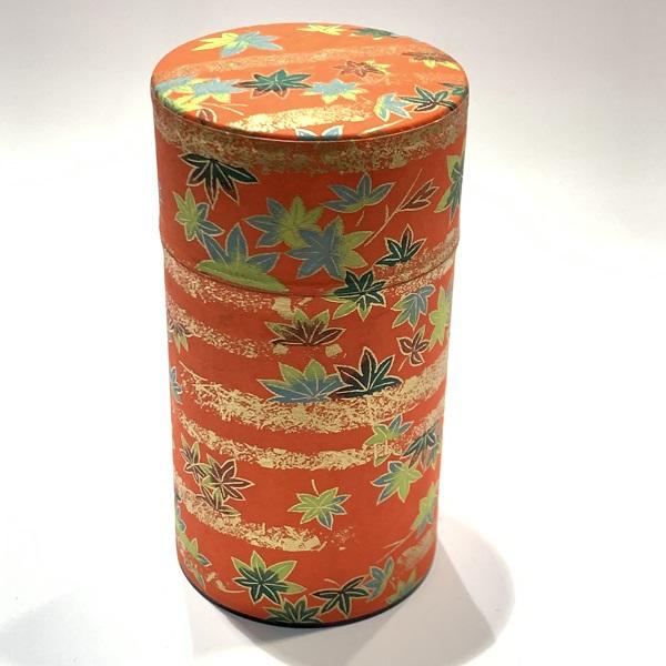 【和紙茶缶150g】140