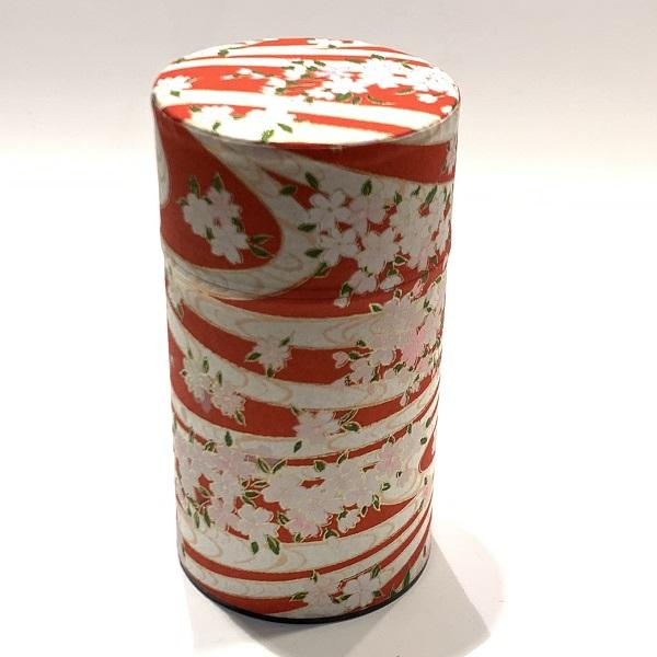 【和紙茶缶150g】183