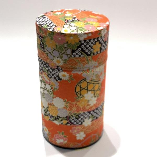 【和紙茶缶150g】184