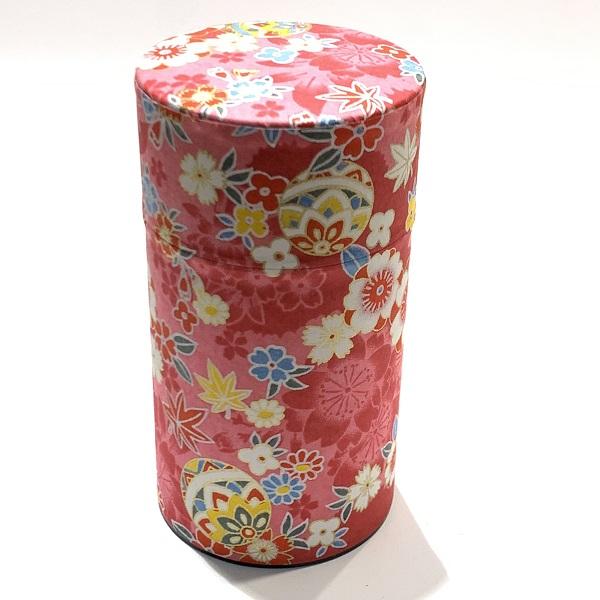 【和紙茶缶150g】185