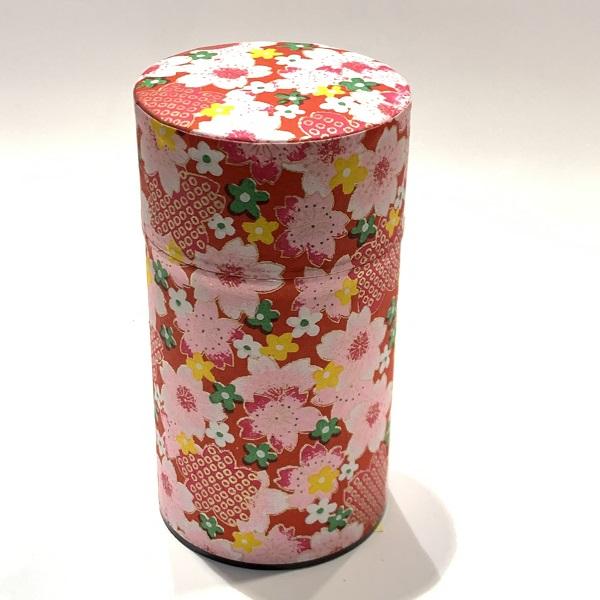 【和紙茶缶150g】191