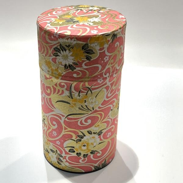 【和紙茶缶150g】206