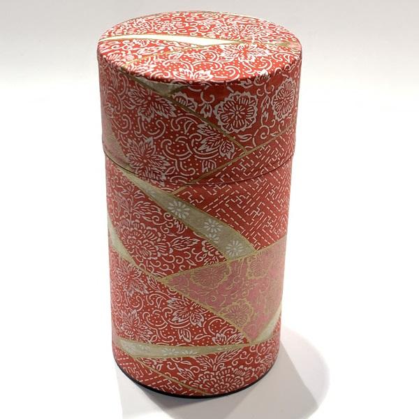 【和紙茶缶150g】208
