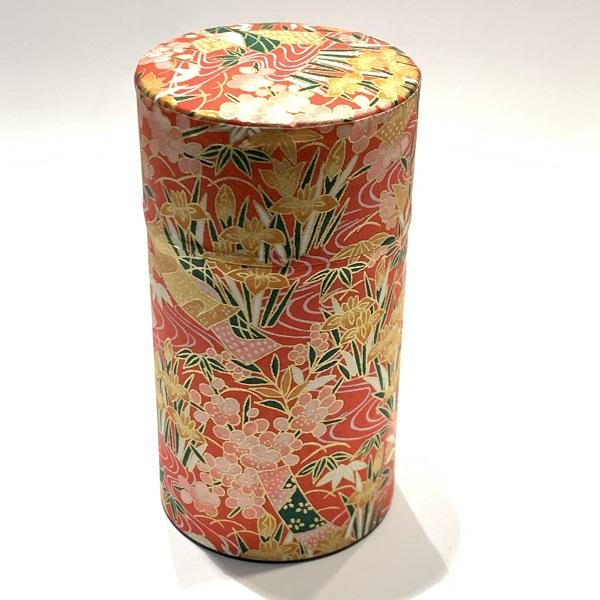 【和紙茶缶150g】225
