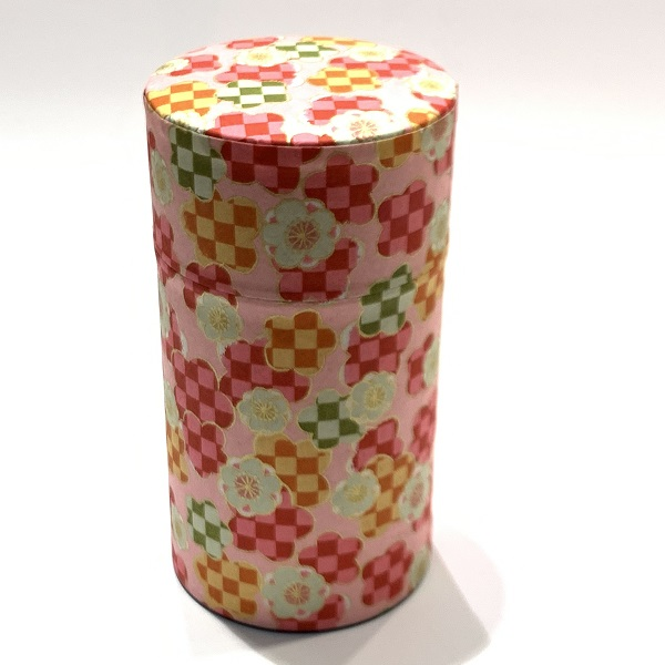 【和紙茶缶150g】227