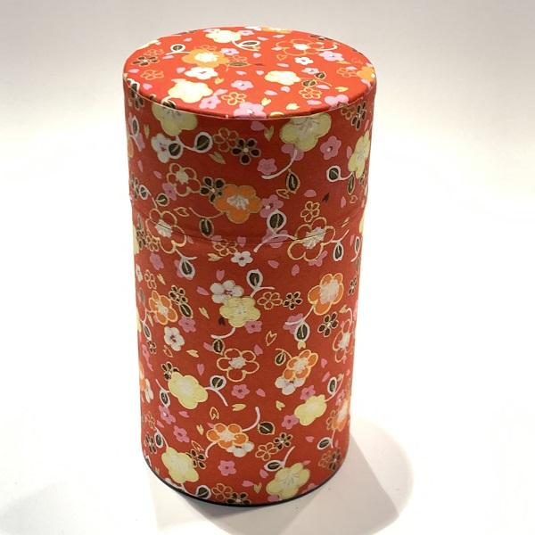 【和紙茶缶150g】228