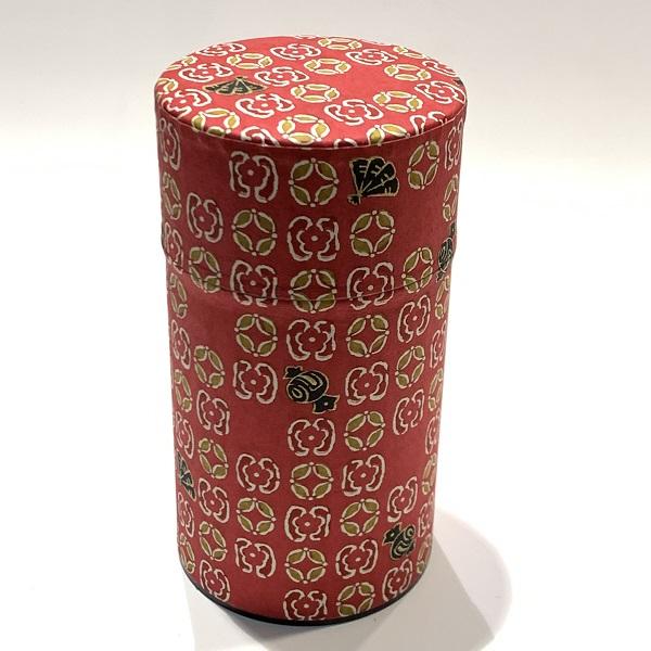 【和紙茶缶150g】236