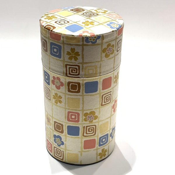 【和紙茶缶150g】240