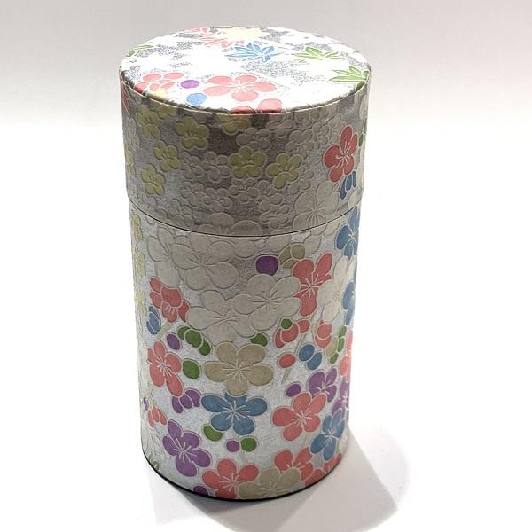 【和紙茶缶150g】47