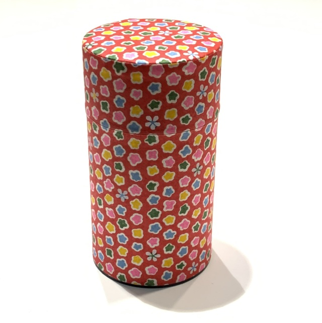【和紙茶缶150g】5