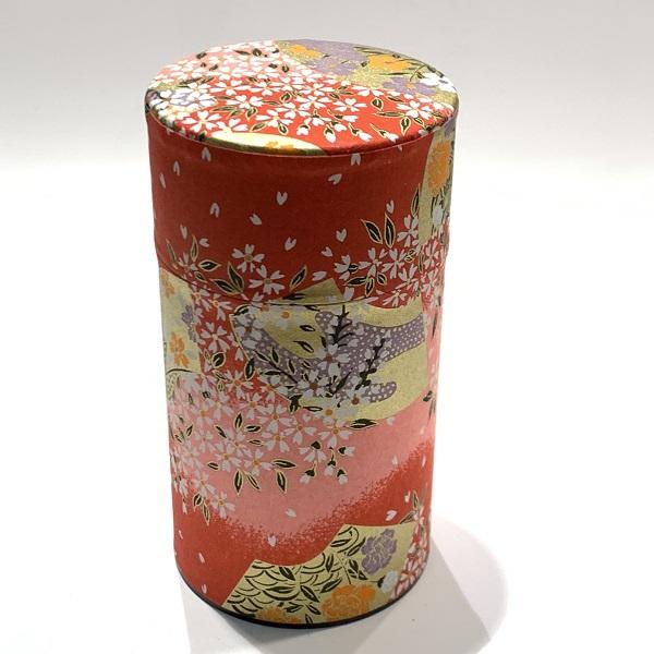 【和紙茶缶150g】53