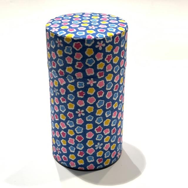 【和紙茶缶150g】6