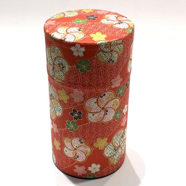 【和紙茶缶150g】79