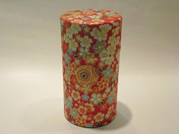 和紙茶缶150g166