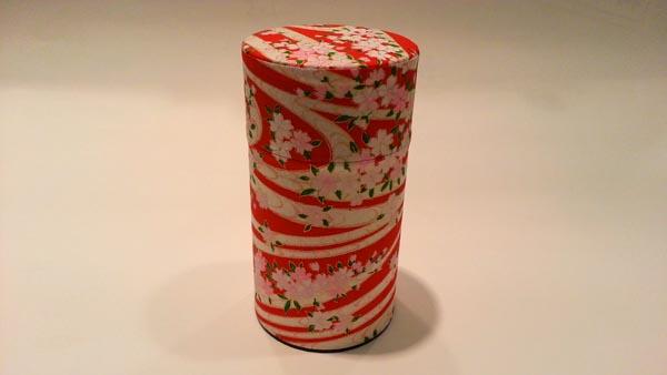 和紙茶缶150g183