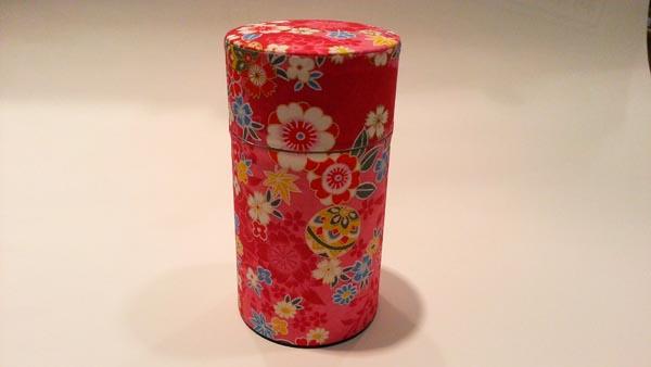 和紙茶缶150g185