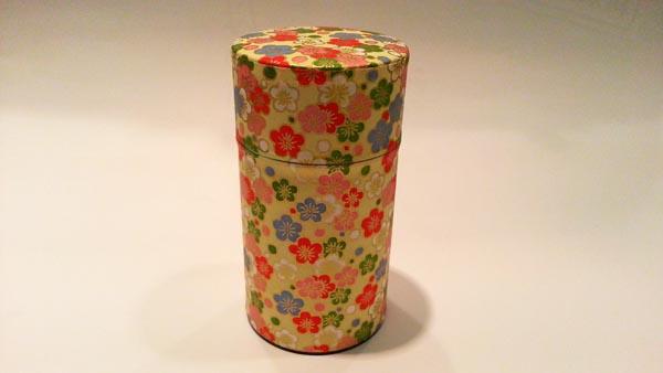 和紙茶缶150g187