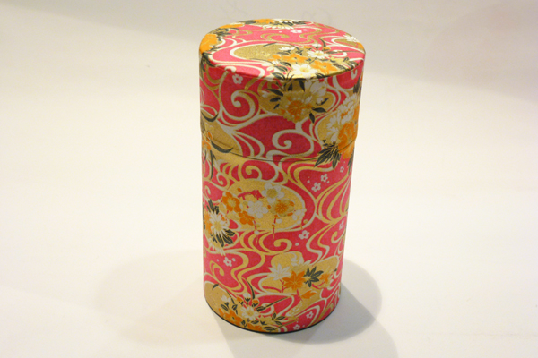 和紙茶缶150g206