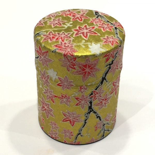 【和紙茶缶50g】158