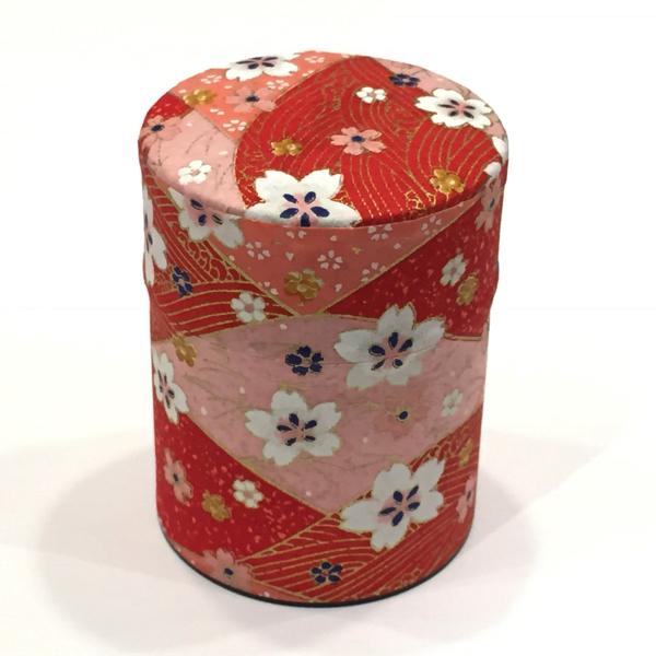 【和紙茶缶50g】172