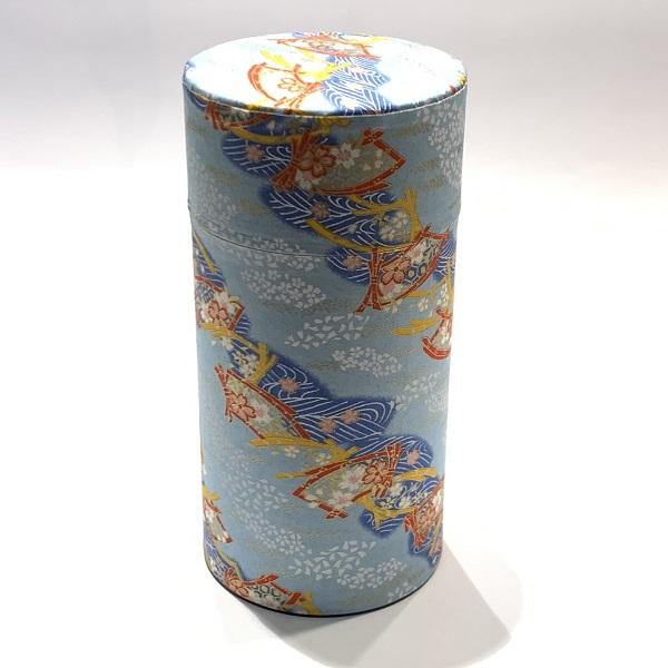 【和紙茶缶200g】187