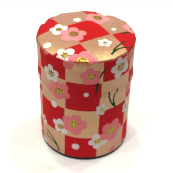 【和紙茶缶50g】193