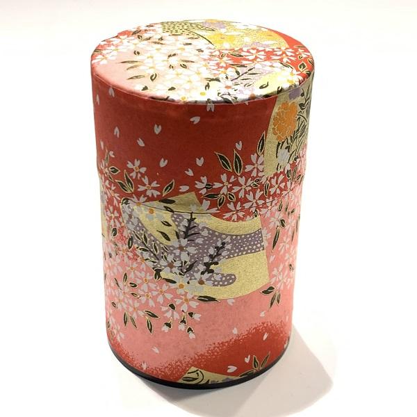 【和紙茶缶100g】215