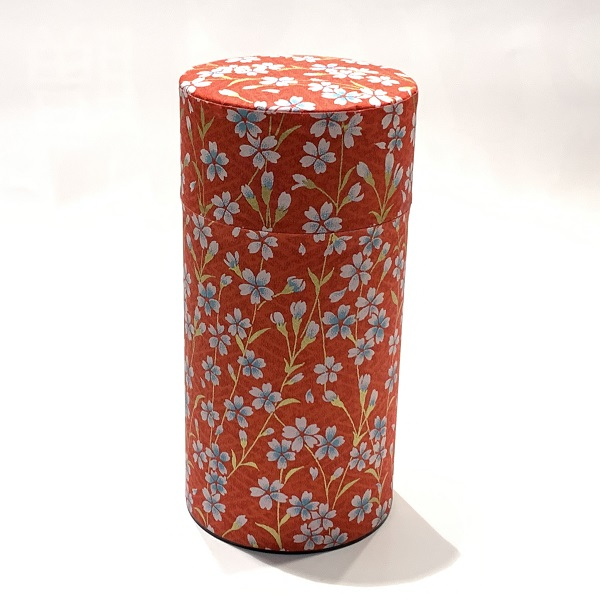 【和紙茶缶200g】262