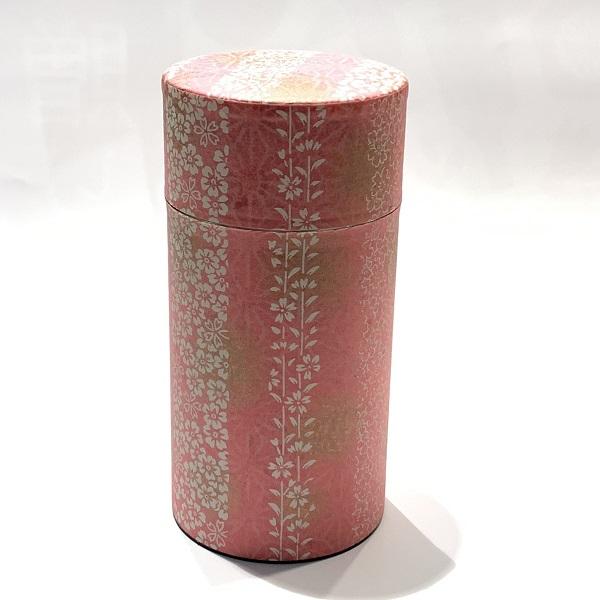 【和紙茶缶200g】265