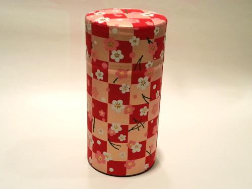 和紙茶缶200g155