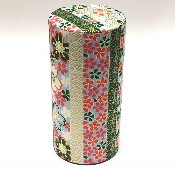 【和紙茶缶200g】135