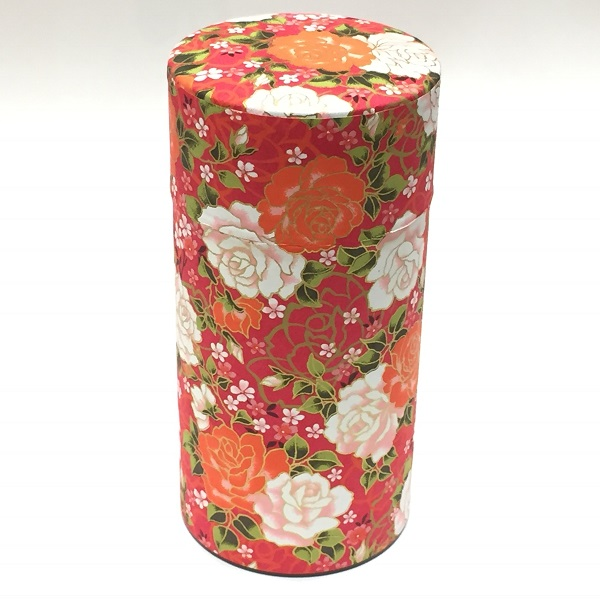 【和紙茶缶200g】206