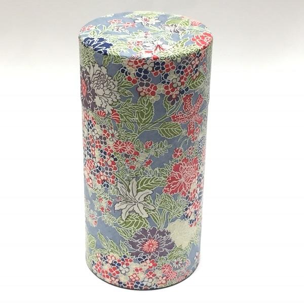 【和紙茶缶200g】242