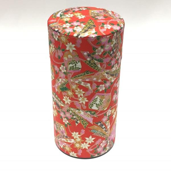 【和紙茶缶200g】244