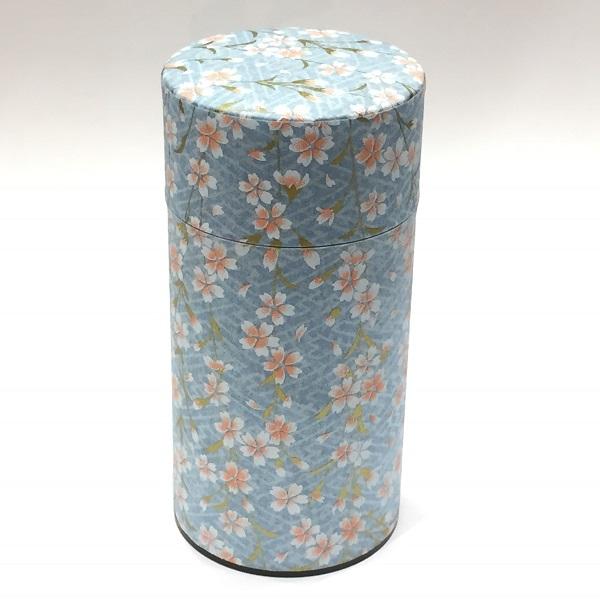【和紙茶缶200g】245