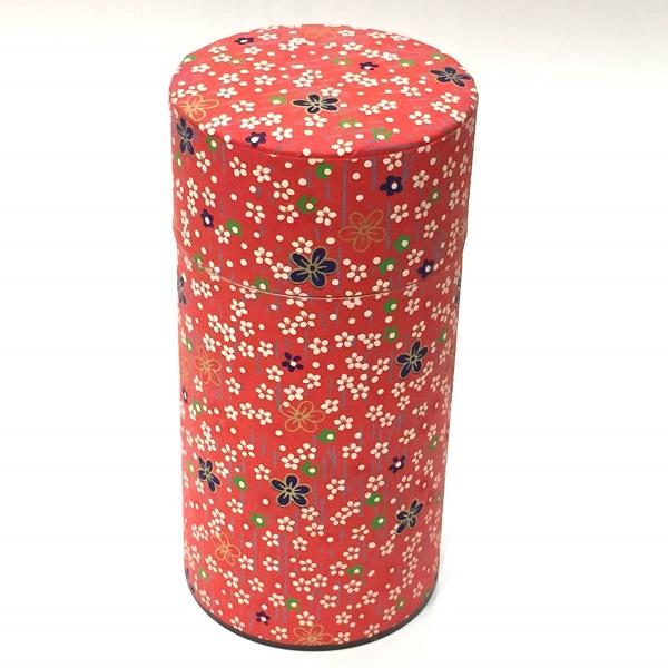 【和紙茶缶200g】250