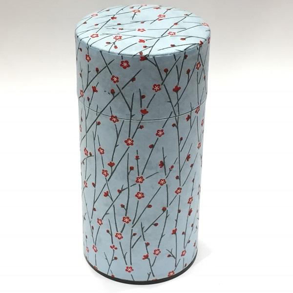 【和紙茶缶200g】254